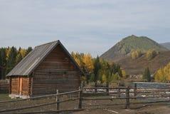 Tuwa folk kabin Royaltyfri Foto