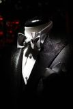 Tuxedo. With white shirt and bow-tie Royalty Free Stock Photo