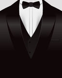 Tuxedo Background Stock Image