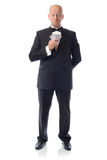 Tuxedo bad hand Royalty Free Stock Image