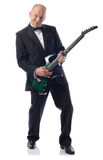 Tuxedo guitar Stock Image