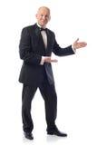 Tuxedo presenting Royalty Free Stock Photo