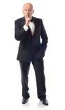 Tuxedo secret Royalty Free Stock Photo