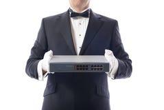 Tuxedo switch Stock Image