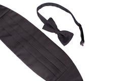 Tuxedo Tie And Cummerbund Stock Images
