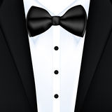 Tuxedo vector background Royalty Free Stock Images