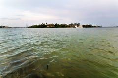 Tuxpan河,墨西哥 库存照片