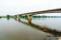 Tuxpan河,墨西哥 免版税库存照片