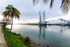 Tuxpan, de Staat van Veracruz, Mexico stock foto's