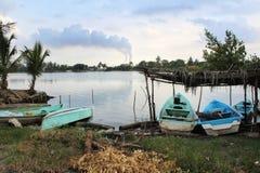Tuxpan flod, Mexico arkivbild
