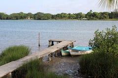 Tuxpan-Fluss, Mexiko lizenzfreie stockbilder