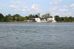 Tuxpan River, Mexico. A river scene from Tuxpan, Mexico on the Gulf Coast of Mexico royalty free stock photography