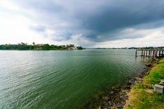 Tuxpan rzeka, Meksyk obraz royalty free