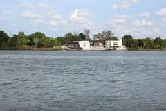 Tuxpan rzeka, Meksyk fotografia royalty free