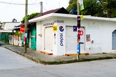 Tuxpan, stato di Veracruz, Messico immagini stock