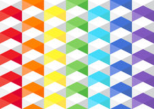 Tuxture πολυγώνων ουράνιων τόξων στοκ φωτογραφίες