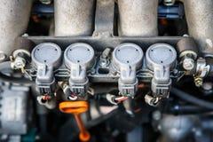 Tuyère à gaz Photographie stock libre de droits