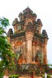 TUY HOA, PHU YEN, VIETNAM, April 14th, 2018: Chamtorn i Phu Yen, Vietnam Royaltyfria Bilder