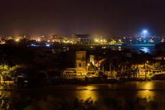 Tuy Hoa stad, Phu Yen landskap arkivfoton