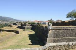 Tuy vu de la forteresse de Valenca Photographie stock