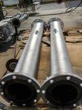 Tuyau d'acier de bobine pour l'entretien Photographie stock
