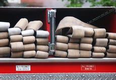 Tuyau d'incendie photo libre de droits