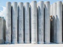 Tuyau de ciment photographie stock