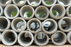 Tuyau de ciment Photo libre de droits