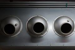 Tuyau de climatisation d'usine Photo libre de droits