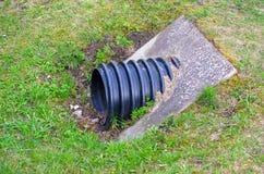 Tuyau de drainage Photo libre de droits