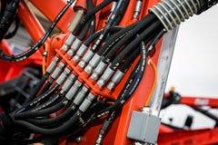 Tuyau hydraulique Images stock