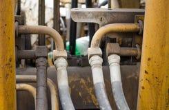 Tuyau hydraulique Photos libres de droits