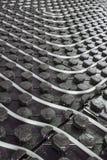 Tuyauterie flexible rayonnante de chauffage par le sol Photographie stock