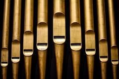 Tuyaux abstraits d'organe de tuyau images libres de droits