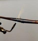 Tuyaux d'en cuivre de soudure de dépanneur Photos libres de droits