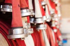 Tuyaux d'incendie Photos libres de droits