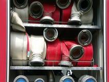 Tuyaux d'incendie image stock
