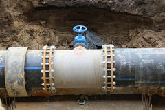Tuyaux de drainage photos stock