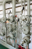 Tuyaux de fer pour l'approvisionnement en eau Photo stock