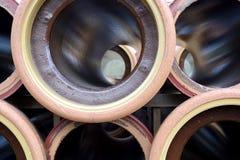 Tuyaux de grès Photos stock