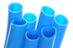 Tuyaux de PVC Images libres de droits