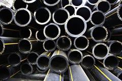 Tuyaux de tuyauterie, industrie Image libre de droits