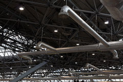 Tuyaux de ventilation Photo stock