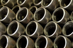 Tuyaux en métal Photographie stock