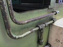 Tuyaux hydrauliques dans la machine photo libre de droits