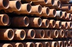 Tuyaux pour des puits 2005 juin Image stock