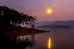 Tuyen Lam Lake Royalty Free Stock Photography