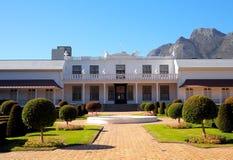 Tuynhuys - residência oficial do sul - presidente do Estado africana fotos de stock