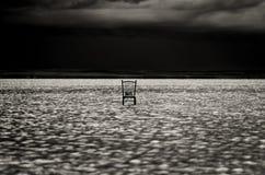 Tuz Golu (озеро сол), центральная зона Анатолии, Турция Стоковое Изображение RF
