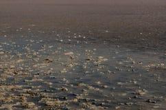 Tuz Golu, Środkowy Anatolia region, Turcja (Salt Lake) Zdjęcia Royalty Free